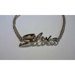 Bracciale Names argento Silvia